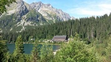Horský hotel Popradské pleso (1494 m)