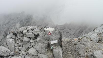 Gipfel der Großen Baba