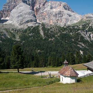 Aussicht Plätzwiese mit Kapelle