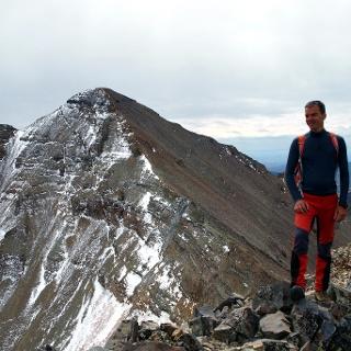 Castle Peak 4352m vom Conundrum Peak