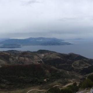 Blick Richtung Albanien vom Pantokratoras