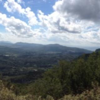 Blick oberhalb von Troumbetas