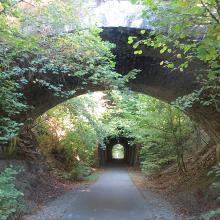 Brücke und Tunnel bei Simmern