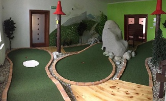 Indoor Tatra adventure golf