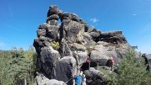 Wander- und Klettersteigtour um Jonsdorf/Zittauer Gebirge