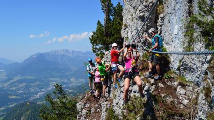 Klettersteig Untersberg : Die schönsten klettersteige im berchtesgadener land