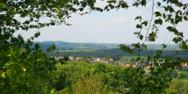 Blick auf die Gemeinde Hasbergen