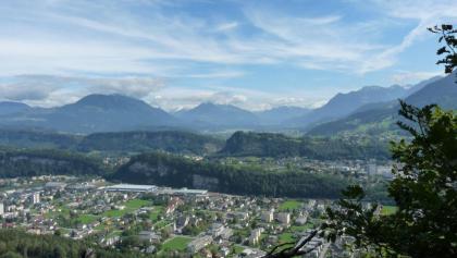 Blick vom Gantenstein über Feldkirch