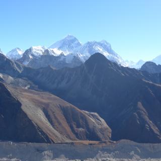 Vom Gokyo  Ri Blick auf Mount Everest