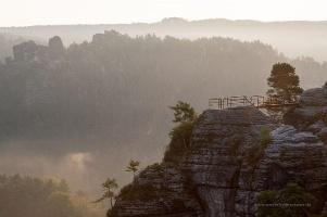 Foto Blick von der Felsenburg Neurathen