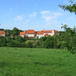 Die ehemlaige Klosteranlage Kirchberg
