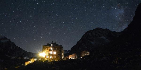 Nürnberger Hütte-Nachtstimmung