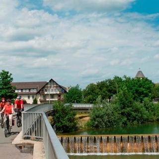 Lippesee - Auslaufbauwerk