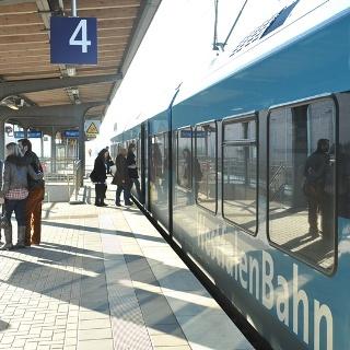 Paderborn Hauptbahnhof - Bahnsteig