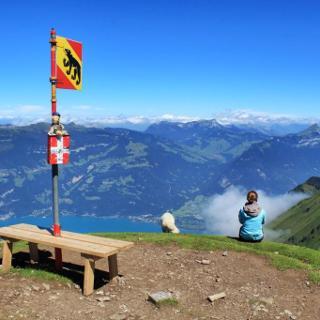 Gipfel Morgenberghorn