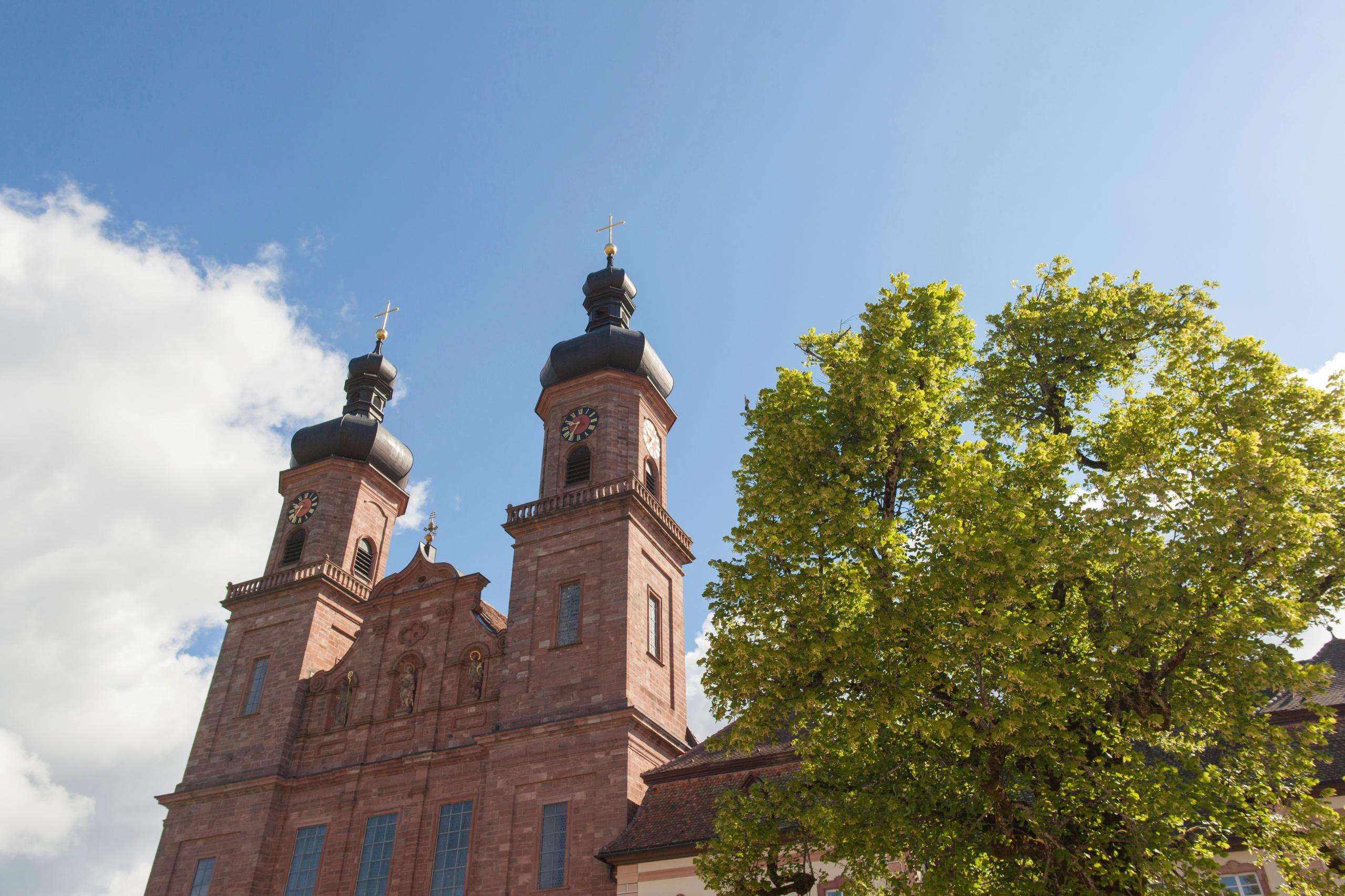 Barrockkirche St. Peter Türme