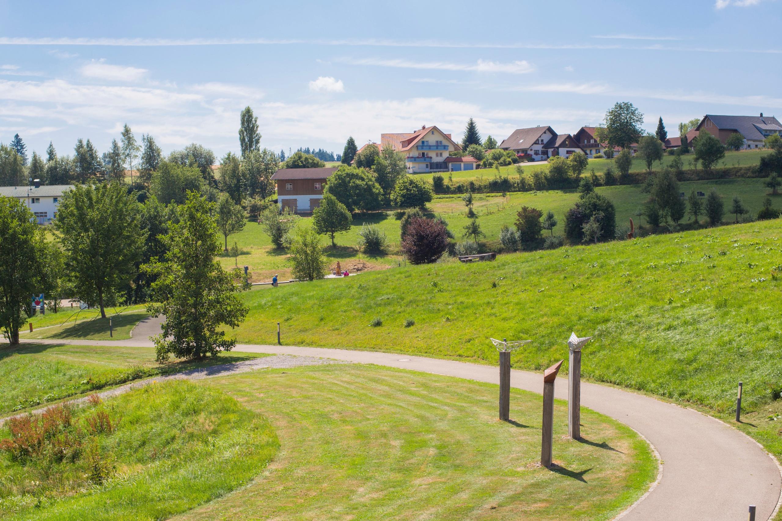 Wanderung durch den Skulpturenpark Grafenhausen