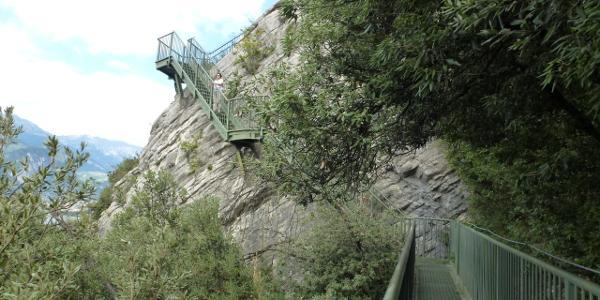 Treppen Busatte Park - Tempesta Weg
