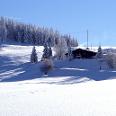 Die Krunkelbachhütte im Winter