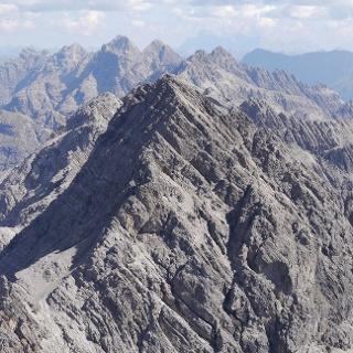 Die Marchspitze vom Großen Krottenkopf aus