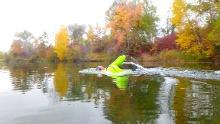 Herbst SwimRun Elchinger Seenplatte
