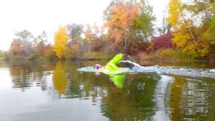 Schwimmen im Schützensee