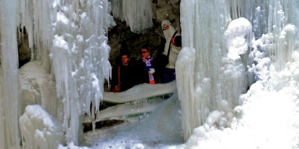 Breitachklamm during winter