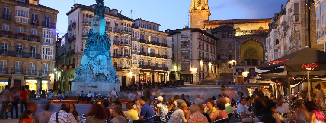El casco histórico de Vitoria Gasteiz