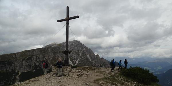 Gipfelkreuz Strudelkopf mit Dürrenstein