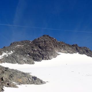 Weißspitze über dem Garaneberkees.