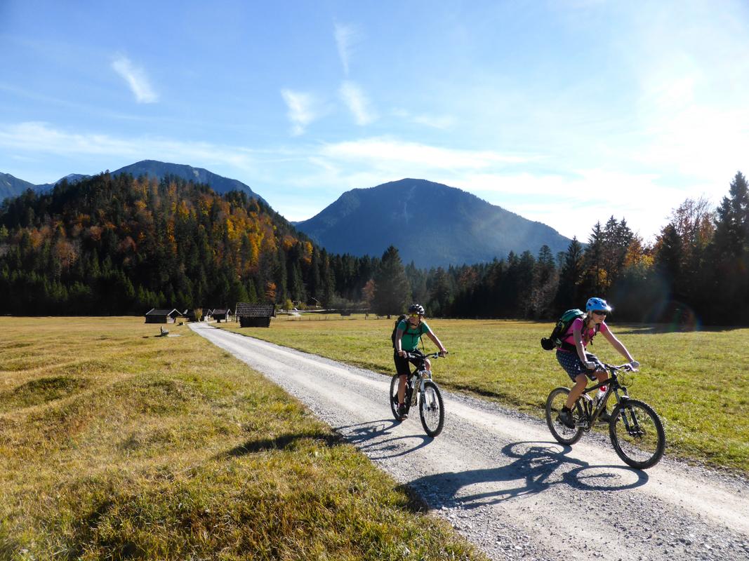 Mountainbiketour Enningalm Runde Ammergauer Alpen