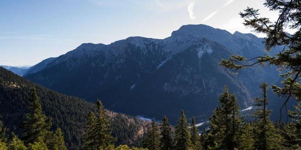 Kreuzspitze von der Weitalpspitze