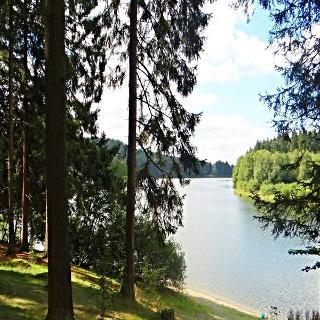 Blick auf Büttgenbacher See