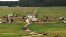 Über stille Höhen von Schwärzenbach