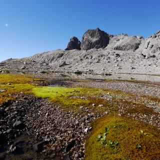 Im Birgerkar mit Blick auf die Herrmannskarspitze