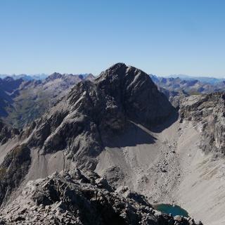Blick auf den Großen Krottenkopf von der Marchspitze