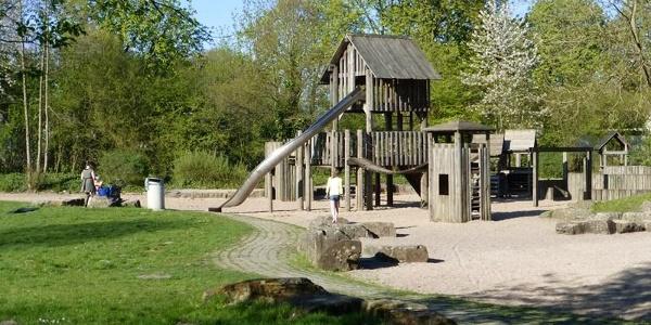 Spielplatz in der Paderaue