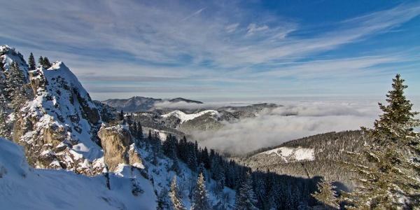 Skitour - Am Zahn über Kolbensattelhütte - am Gipfel