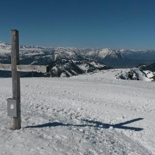 Gipfelkreuz Lawinenstein