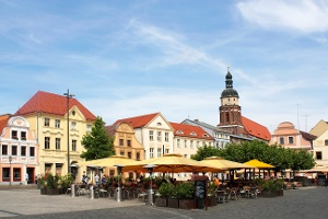 Stadtrundgang durch die Innenstadt von Cottbus