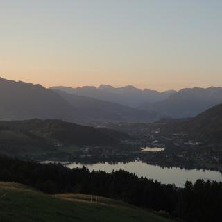 Der Grünten bei Sonnenaufgang