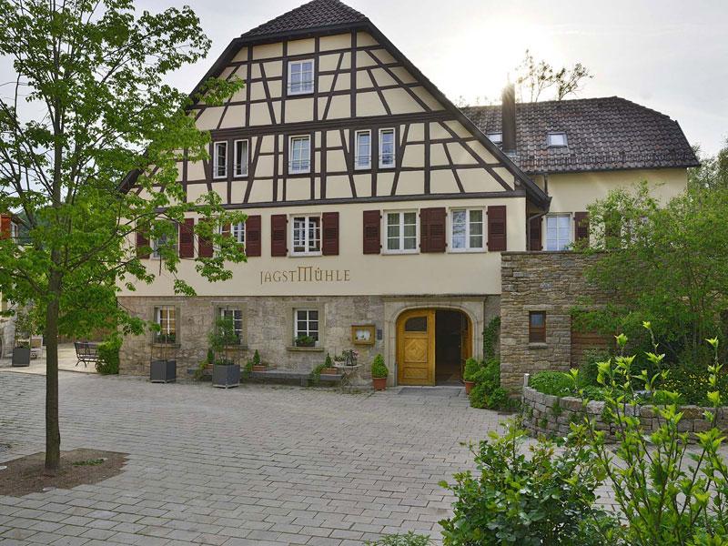Landgasthof Jagstmühle in Heimhausen  - @ Autor: Beate Philipp  - © Quelle: Hohenlohe + Schwäbisch Hall Tourismus e.V.