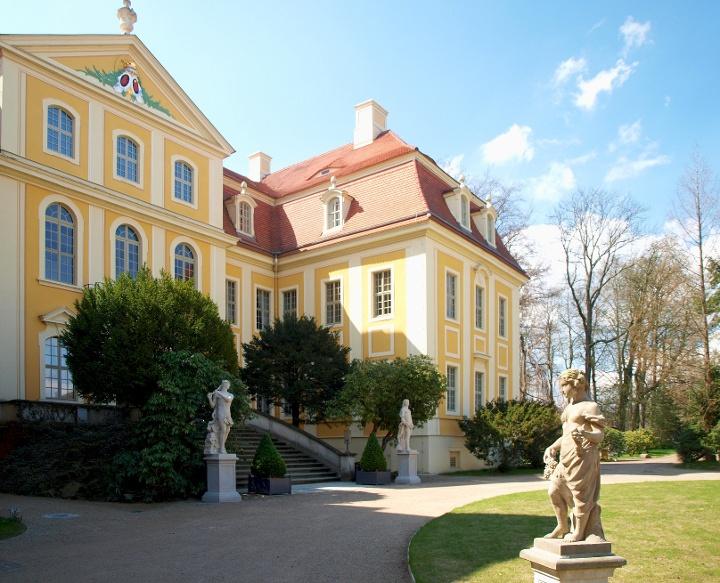 Foto Barockschloss Rammenau