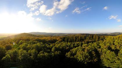 Panoramablick vom Fernsehturm Steinegge