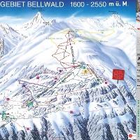 Pistenplan Bellwald