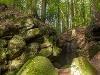 Gallengrotte  - @ Autor: Beate Philipp  - © Quelle: Naturpark Schwäbisch-Fränkischer Wald