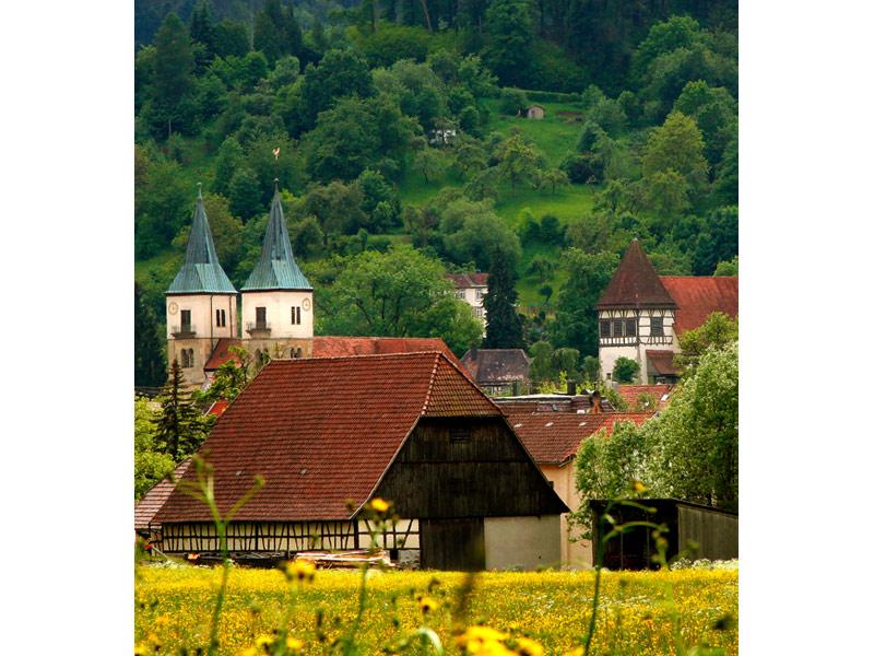 Idyllische Straße Tour K - Murrhardter Ausblicke  - @ Autor: Beate Philipp  - © Quelle: Naturpark Schwäbisch-Fränkischer Wald