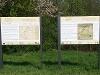 Informationstafeln zur Haller Landhege  - @ Autor: Beate Philipp  - © Quelle: Naturpark Schwäbisch-Fränkischer Wald