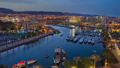 Der Hafen von Eilat
