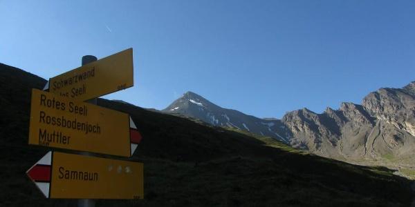 Val Maisas mit Aussicht auf den Muttler